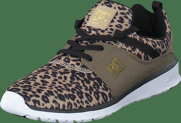 691560bf258 Køb DC Shoes Heathrow SE Leopard Print beige Sko Online | FOOTWAY.dk