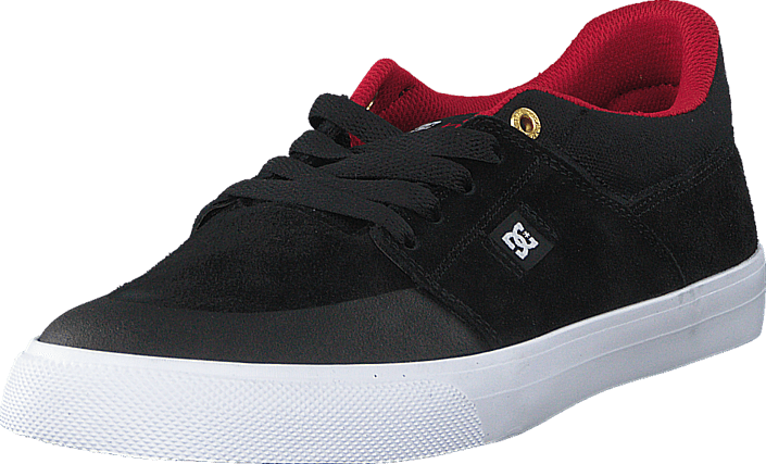 DC Shoes - Wes Kramer Black/ Athletic Red/ White