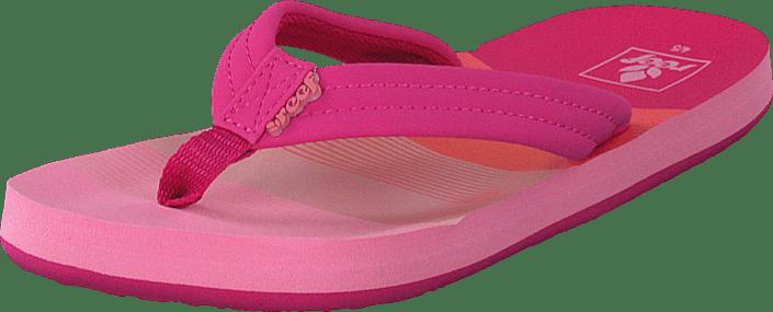 Reef - Little Ahi Pink/Stripes