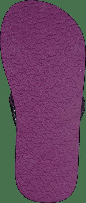 Reef - Little Cushion Sassy Black/Orchid
