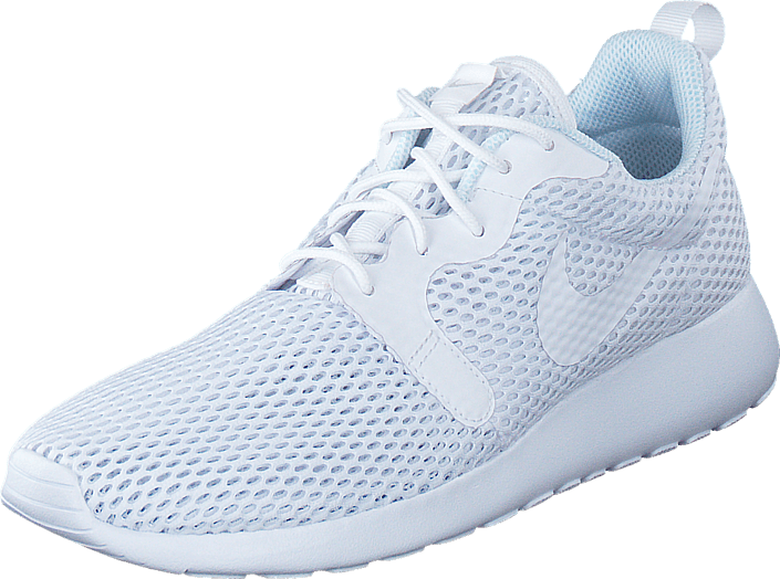 new arrival 52b95 c996c W Nike Roshe One Hyp Br White/White-Pure Platinum