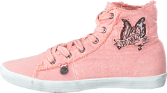 Butterfly High Sneaker Milky Pink