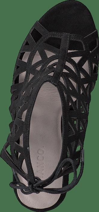 Bianco - Cutout Stiletto Sandal JJA16 Black