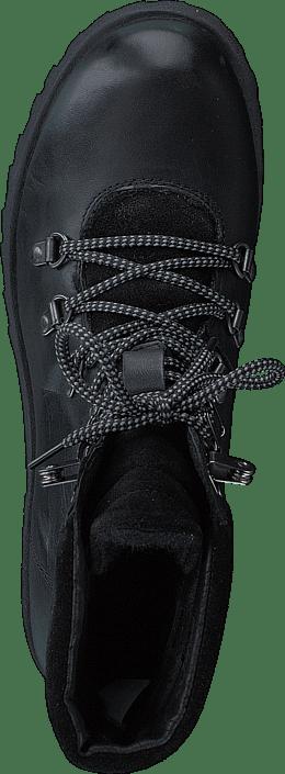 Warm Skiing Boot Black