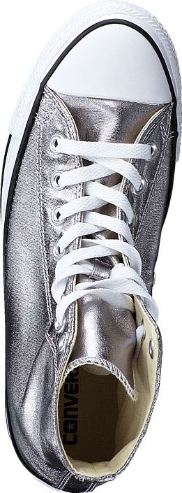 Sko Converse hi white Online Sneakers Gunmetal All black Star Hvite Kjøp Metallics Cwzqg7dwa