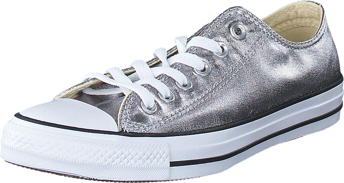 Converse All Star Metallics Ox Gunmetal vit svart lila Skor Online