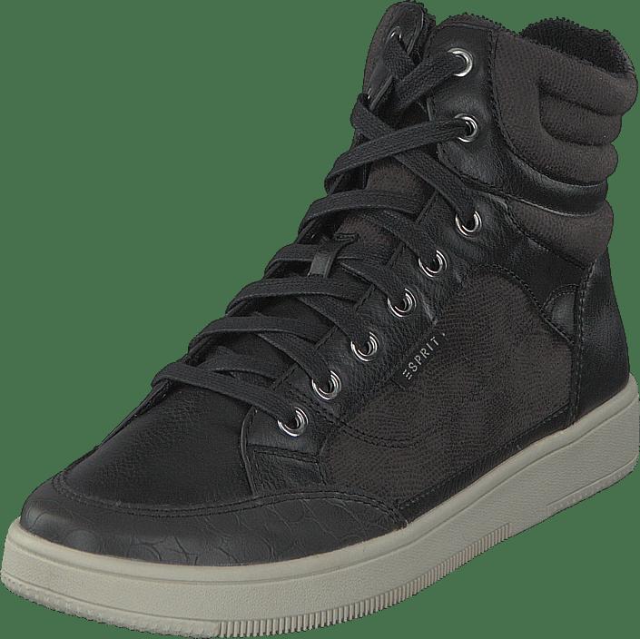 Esprit Online Sneakers Grå Bootie Desire Sko Black Kjøp USqpdU