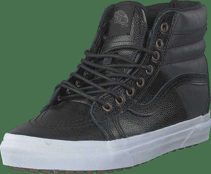 SK8 Hi 46 MTE (Pebble Leather) black
