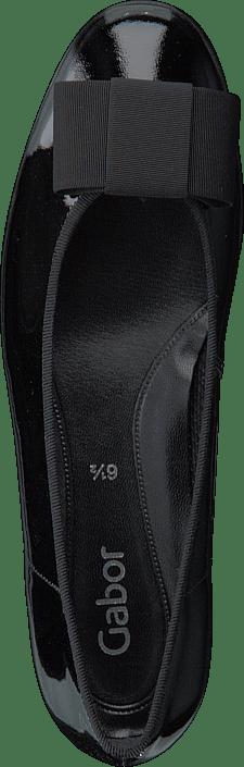 100 97 Kjøp Gabor Sko Sorte Online Flats Black 05 1qHPwz