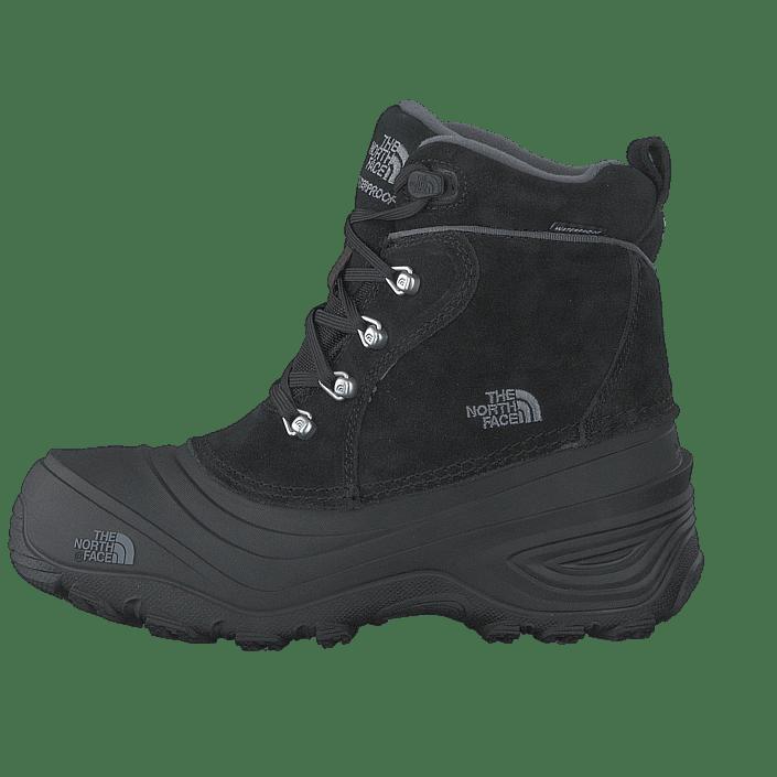 61c622f447c Køb The North Face Youth Chilkat Lace II TNF Black/ Zinc Grey grå Sko  Online | FOOTWAY.dk