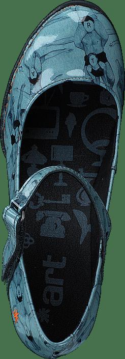 ae9cf0d388f08 Buy Art 933 F Harlem F. Gymnastics turquoise Shoes Online