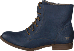 1157534 Women's Lace-Up Bootie Dark Blue