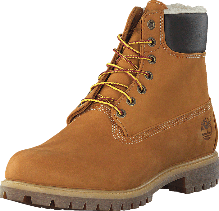 Köp Timberland Heritage 6 In Warm-Lined Boot Wheat Nubuck orangea ... 952e9bb7190