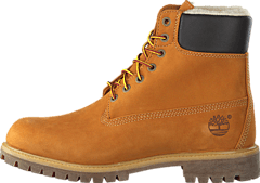 Heritage 6 In Warm-Lined Boot Wheat Nubuck