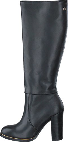 Tommy Hilfiger - GH HIGH LEATHER BOOT 990990 Black 0711f7ad56