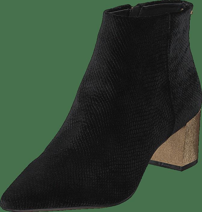 Calvin Klein - Narla Velvet Snake Print Black