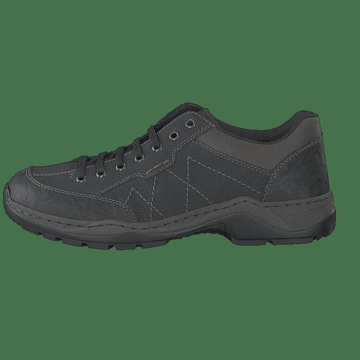 01 01 01 uk Buy Online 14713 14713 14713 Rieker Black FOOTWAY co Grey Shoes qAOE6A