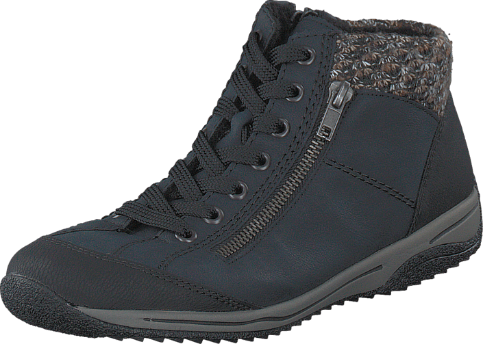 Rieker - L5223-01 Black/Blue