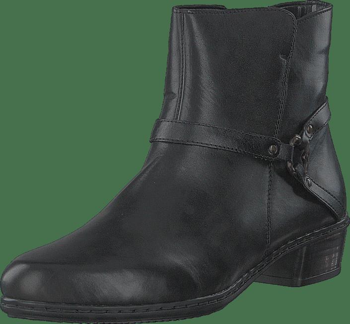 Sko Online Y0762 00 Kjøp Boots Black Grå Rieker 8HnX1wqS