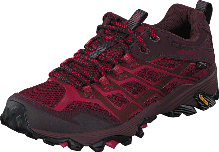 1ddabb288ac6 Buy Merrell Moab FST GTX Beet Red purple Shoes Online