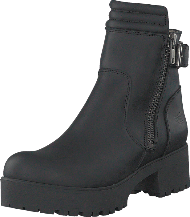 Johnny Bulls - 5085 Biker Black Old Silver