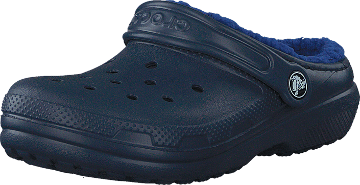 Classic Lined Clog K Navy/Cerulean Blue