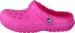 Classic Lined Clog K Party Pink/Candy Pink