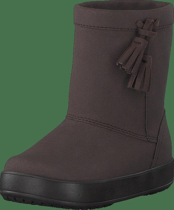 Crocs LodgePoint Boot K Espresso lila Skor Online