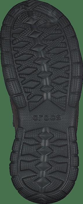 Crocs - Swiftwater Suede Moc M Espresso/Black