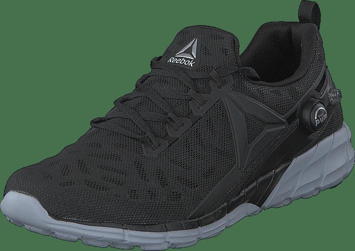 cloud white Reebok Grey Grå Fusion Sneakers Online Black coal Zpump Sko Kjøp RTaUq