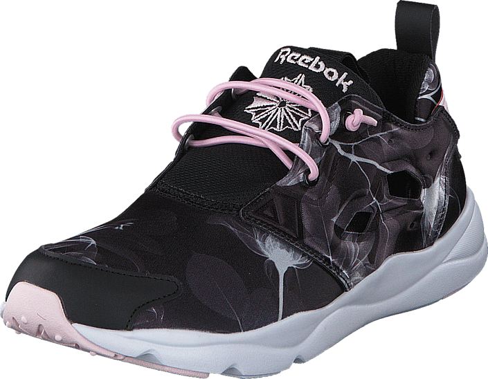007b75f74fc33e Buy Reebok Classic Furylite Graphic Floral-Black White black Shoes ...