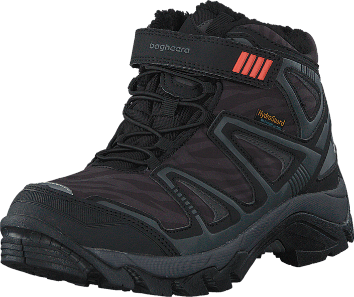 Bagheera - Atlas  Waterproof Black/Dark Grey