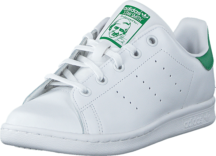 adidas Originals STAN SMITH Trainers whitegreen