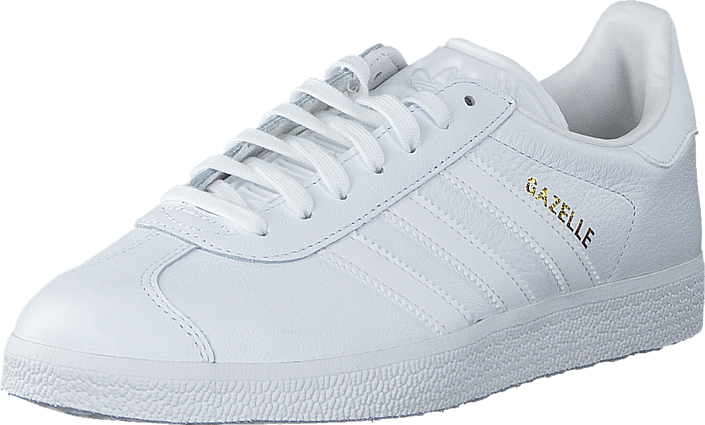 big sale e8465 1a18d adidas Originals - Gazelle Ftwr White Ftwr White Gold Met