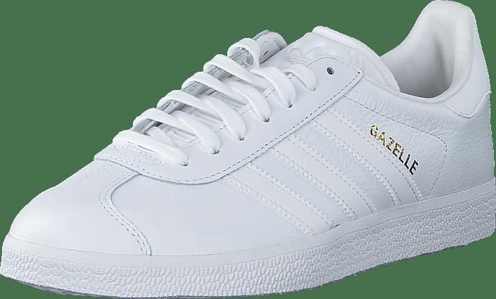 Kjøp adidas Originals Gazelle Ftwr WhiteFtwr WhiteGold Met