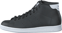 best loved 15464 7b607 adidas Originals - Stan Smith Mid Core Black Ftwr White
