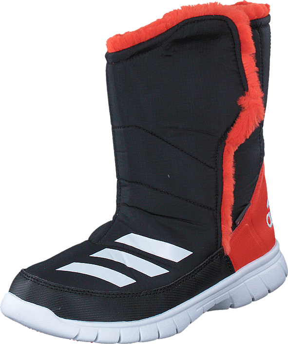 adidas Sport Performance - Lumilumi K Core Black/White/Bold Orange