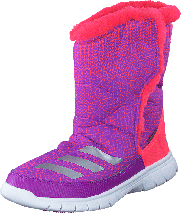 adidas Sport Performance - Lumilumi K Shock Purple/Silver Met/Red