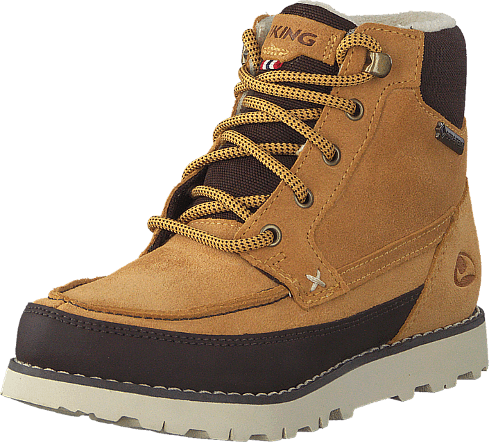 Viking - Kjenning Jr.  Gtx Mustard/Dark Brown