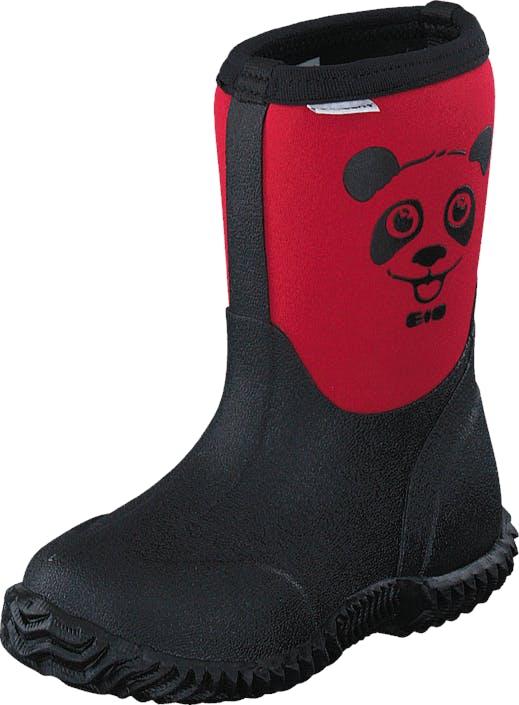Vincent Panda Neoprene Rasberry Red, Skor, Stövlar & Stövletter, Gummistövlar, Röd, Blå, Barn, 21
