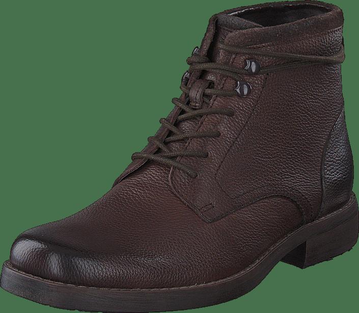 Ashburn Top Dark Brown Leather