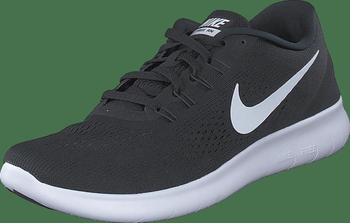 Nike - Nike Free RN Black/White-Anthracite
