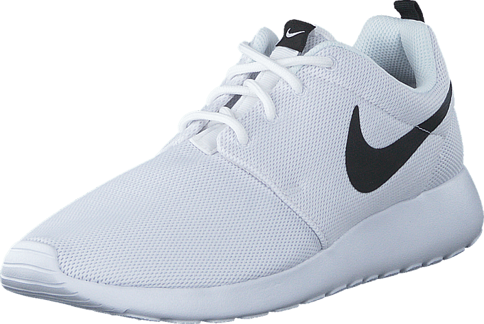 122d54b2b17c Buy Nike W Nike Roshe One White White-Black white Shoes Online ...