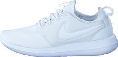 W Roshe Two White/White-Pure Platinum