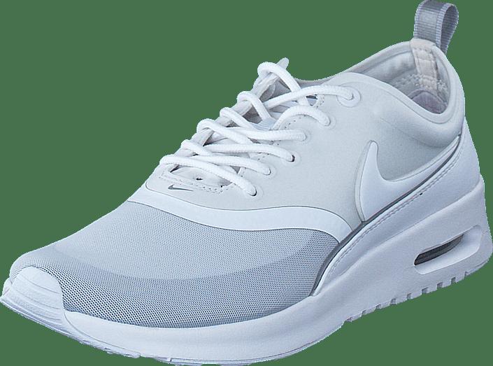 Ocultación Socialista Se convierte en  W Nike Air Max Thea Ultra White/White/Metallic Silver | Footway