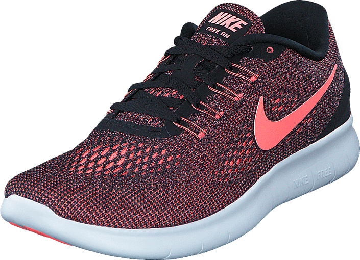 Nike - Wmns Nike Free Rn Black/Lava Glow-Off White