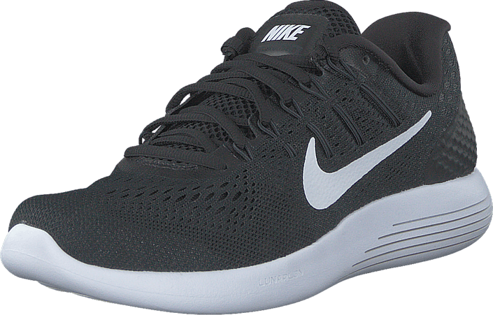 buy popular bb3aa 64d8a Nike - Wmns Nike Lunarglide 8 Black White-Anthracite