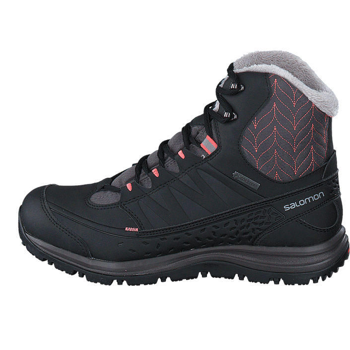 4dd23c3d07c1 Buy Salomon Kaïna Mid GTX® Autobahn Black Melon grey Shoes Online ...