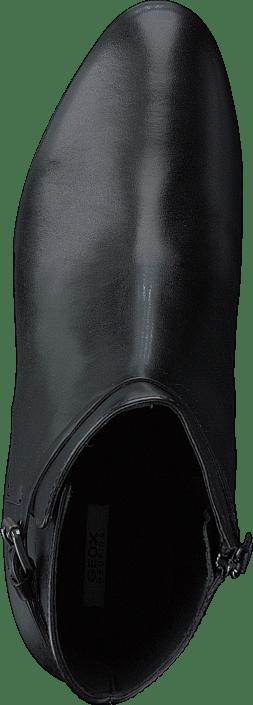 Kjøp Og Sko Støvler C Geox D Støvletter Online Black Petalus Grå qPTSwqz