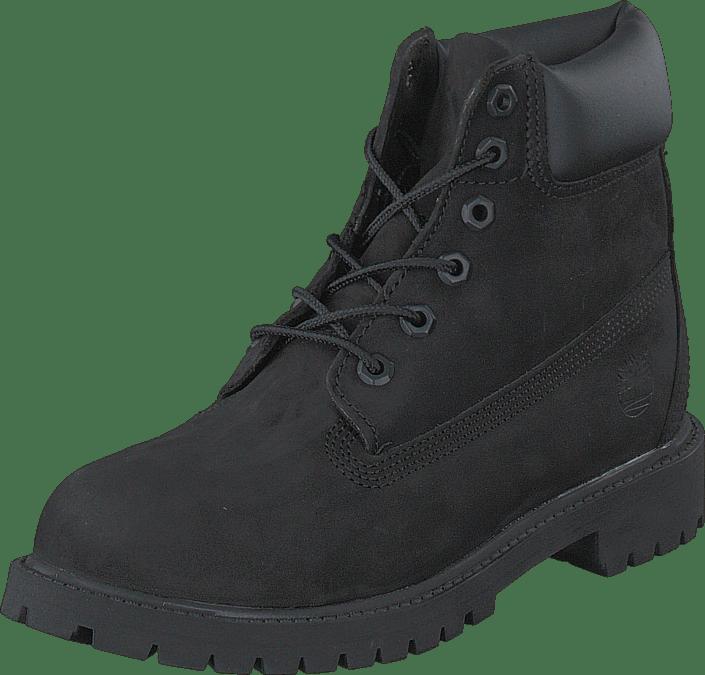 6 In Premium C12707 Black Nubuck Mono
